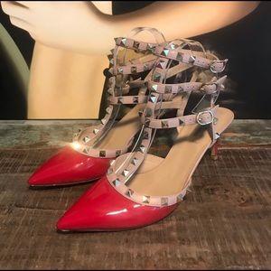 Authentic valentino rockstud heels - 39.5 (9)